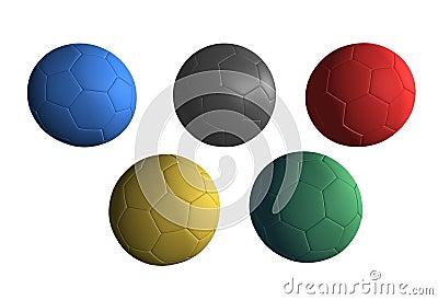 Olympics Balls soccer