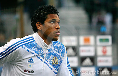 Olympique de Marseille s Brandao Editorial Photo