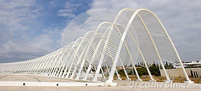 Olympisch Stadion in Athene, Griekenland Redactionele Foto