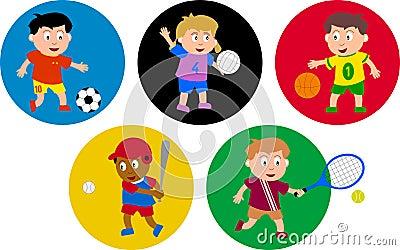Olympische Kinder