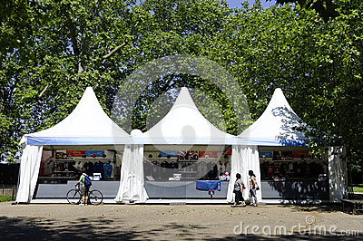 Olympisches System in Hyde Park, London Redaktionelles Stockbild