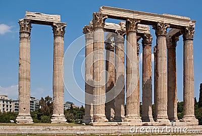 Olympisk tempelzeus