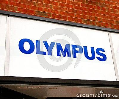 Olympus Logo Editorial Image