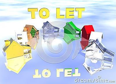 Om de Gouden Ring van de Tekst van Diverse Types van Huizen te laten