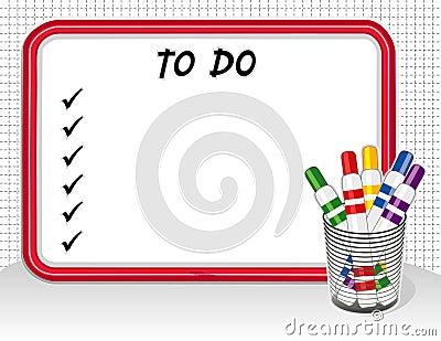 Om lijst te doen