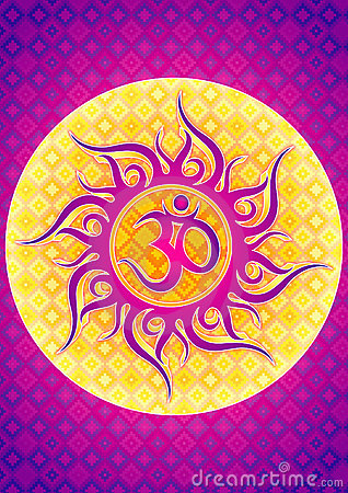 OM symbol illustration