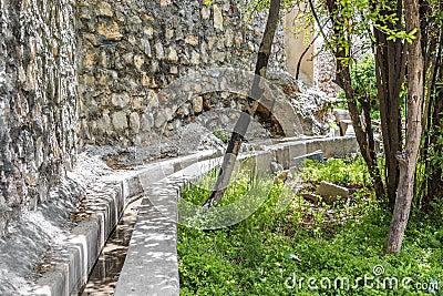 Oman Saiq Plateau water delivery