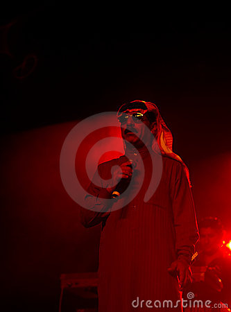 Omar Souleyman -  a Syrian musical legend Editorial Photography