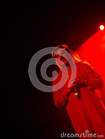 Omar Souleyman, a Syrian musical legend Editorial Stock Image