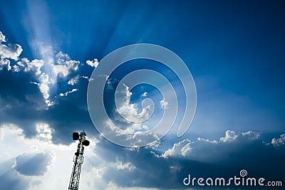 Omasztowywa telekomunikaci wierza