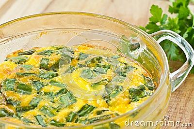 Omelette cotta