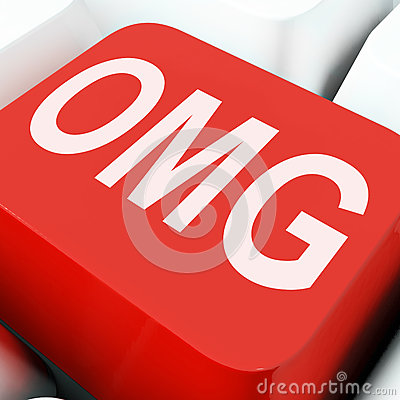 Free Omg Keys Show Oh My God Or Shocked Royalty Free Stock Photos - 64543048