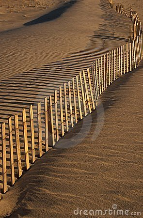 Omheining & strand
