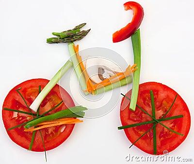 υγιές λαχανικό τροφίμων π&omicro