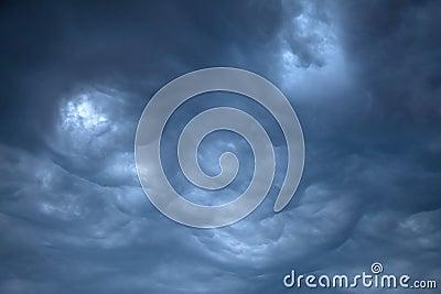 Ominous Rain Clouds