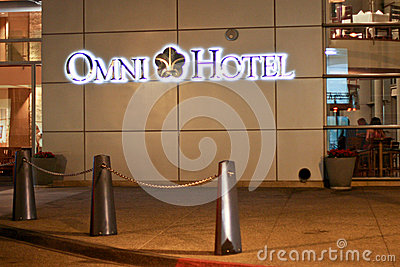Omni Hotel in San Diego Editorial Photo