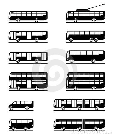 Omnibuses y coches