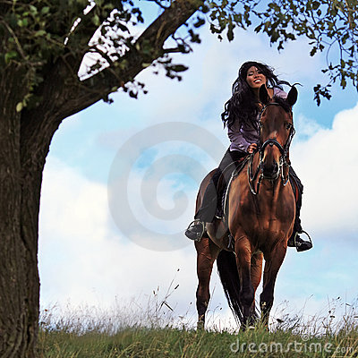 Free On A Horse Royalty Free Stock Images - 7780869