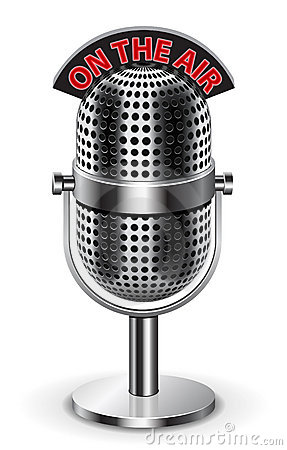 Free On The Air Microphone Royalty Free Stock Photo - 17936555