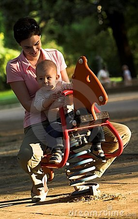 Free On The Playground Stock Images - 1119594