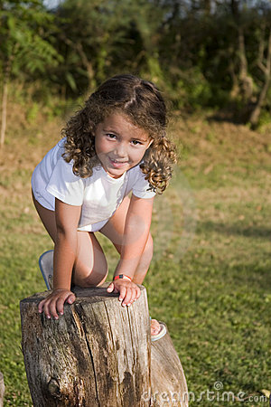 Free On The Steps Royalty Free Stock Photos - 220378