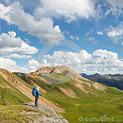 Free On Top Of The World Stock Photo - 29516940