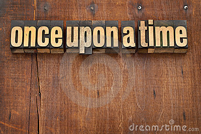 Once upon a time opening phrase