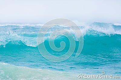 Ondas de oceano grandes