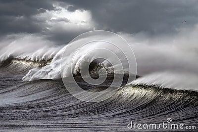 Ondas tempestuosas