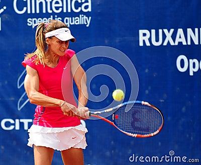 Ondraskova at WTA Event in Bucharest Editorial Stock Image