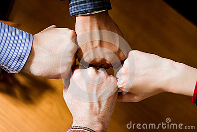 Four Fists Stock Photos, Images, & Pictures - 48 Images
