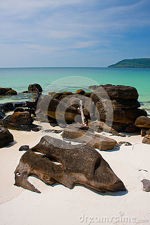 One of the best beaches in Asia on Koh Rong island