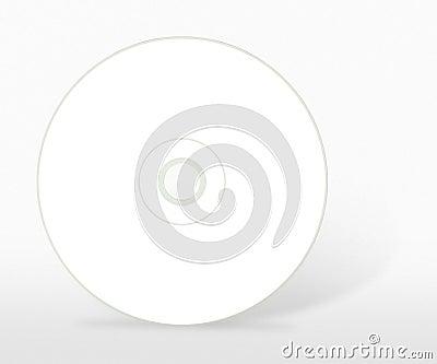 One blank cd