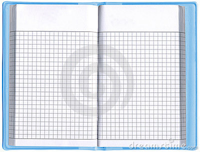One blank notepad organizer, empty spreadsheet,