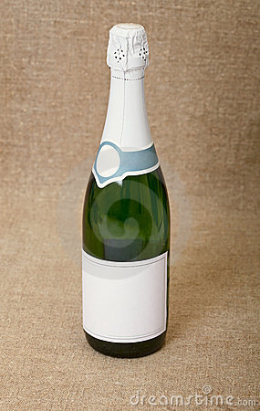 One bottle of sparkling wine
