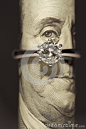 One carat diamond ring