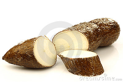 One cut cassava