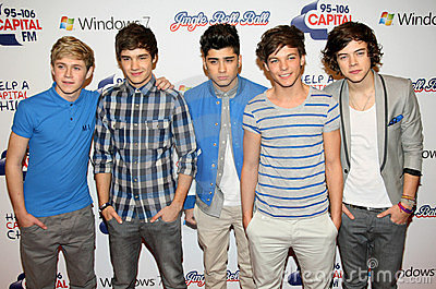 One Direction Editorial Stock Photo