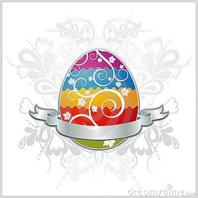 Free One Easter Eggs, Vector Royalty Free Stock Photography - 2097297