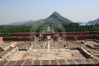 One of the Eastern Qing Tombs