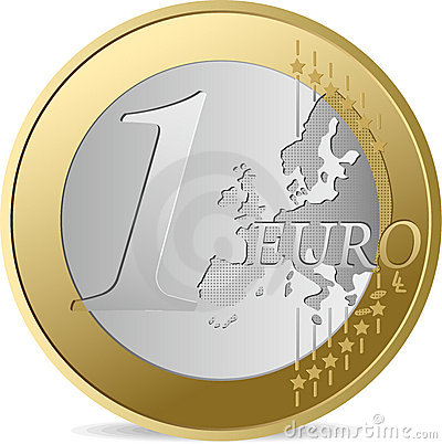 Free One Euro. Stock Photography - 9392782