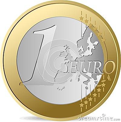 One Euro.