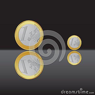 Free One Euro Coin Stock Photo - 8554860
