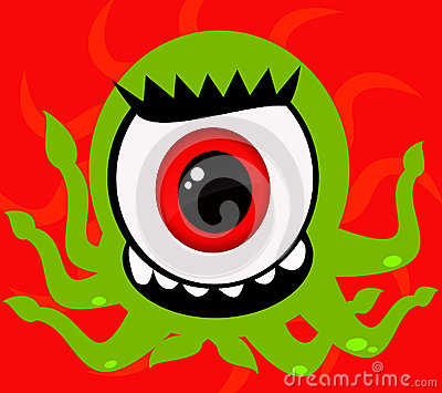 One Eye Monster Royalty Free Stock Photography - Image ...