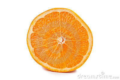 One fresh orange