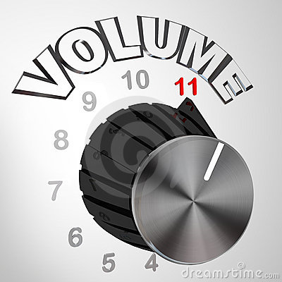 This One Goes to 11 - Volume Dial Knob