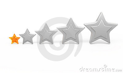 One gold star for ranking