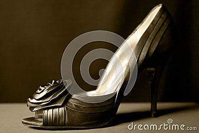 One Green Shoe
