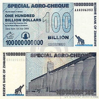One Hundred Billion Dollars
