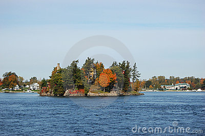 One Island in Thousand Islands Region, New York